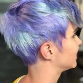 33 Best Blue Short Pixie Haircut Styles for 2021