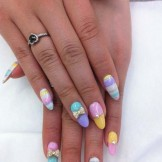 15 Colorful Long Nail Art Designs for Women 2018