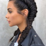35 Gorgeous Fishtail Dutch Pigtail Braids to Create in 2021