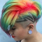 25 Great Undercut Short Hairstyles & Hair Colors in 2021