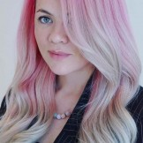 40 Cute Ice Pink Hair Color Trends for Women 2018