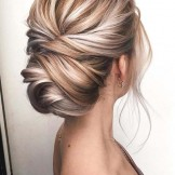 23 Gorgeous Knotted Blonde Updos for Women 2018