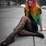 46 Perfectly Blended Rainbow Hairstyles for Women 2018