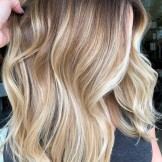 55 Amazing Rooted Blonde Balayage Hair Highlights for 2021