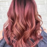 46 Stylish Rose Gold Hair Color Ideas for 2021