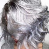 24 Stunning Silver Lob Styles Haircuts to Show Off in 2021