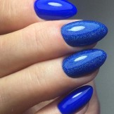 51 Adorable Blue Nail Art Designs to Carry Out in 2021