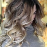 46 Amazing Balayage Highlights with Dark Roots in 2021