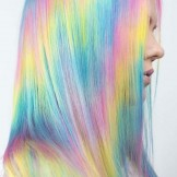 16 Amazing Pastel Rainbow Hair Color Trends for 2021