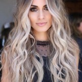 60 Best Blonde Balayage Highlights for Long Wavy Looks in 2021