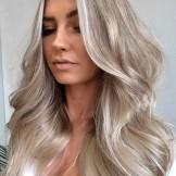 24 Fantastic Silver Ash Blonde Hair Color Trends for 2021