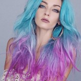 28 Favorite Mermaid Hair Color Styles for Women 2018