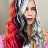 32 Incredible Hair Color Blocking for Ladies in 2021