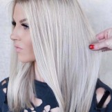 33 Lovely Dark Rooted Blonde Hair Color Trends for 2021