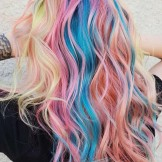 43 Gorgeous Rainbow Hair Colors to Wear Nowadays