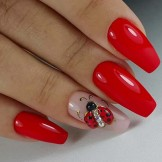 37 Modern Red Nail Arts and Designs for 2021