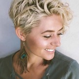 46 Best Short Curly Blonde Haircuts for 2021