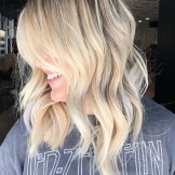 Favorite Blonde Lob Styles for Fashionable Ladies in 2021