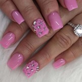 Gorgeous Pink Nail Art Designs and Images in 2021