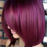 Gorgeous Plum Hair Color Trends & Shades for 2021