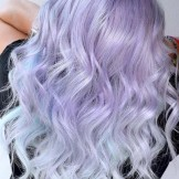 Adorable Lavender Ice Blonde Hair Color Ideas You Must Try in 2021