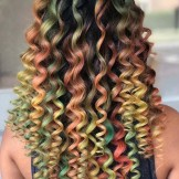Beautiful Colorful Curls for Every Woman in 2021