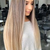 Stunning Blonde Balayage Straight Hairstyles for 2021