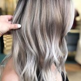 Dimensional Ice Blonde Hair Color Ideas for 2021