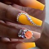 Gorgeous Banana Yellow Nail Polish Designs in 2021-2019