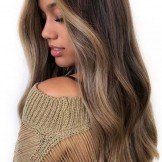 Beautiful & Sweet Look Of Balayage Highlights in Year 2018