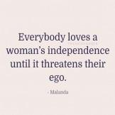Everybody Loves Woman's Independence…