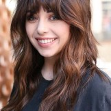 Best Long Hairstyles with Face Framing Bangs in 2021