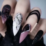 Beautiful Long Nail Styles for Fashionable Girls in 2021