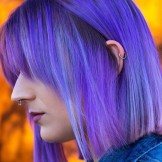 Stunning Pulp Riot Blue Hair Color & Highlights for 2021