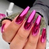 Wonderful Pink Long Nail Designs for Ladies in 2021