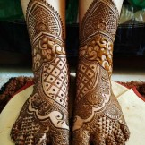 Modern Mehndi Designs for Gorgeous Feet in 2021