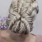 Cute Dutch Fishtail Braids for Updo Hairstyles You Must Wear