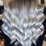 Fabulous Silver Balayage Hair Color Trends & Shades in 2021