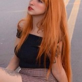 Fashionable Redhead Long Hair Looks for Ladies in 2021