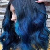 Fantastic Blue Hair Color Ideas & Shades for Women 2019