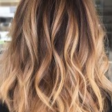 Fantastic Casual Caramel Hair Color Melts for Women 2019