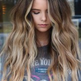 Dimensional Rooty Beach Balayage Hairstyles for Girls 2019