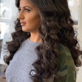 Glamorous Ideas Of Long Curly Hair Styles for Women 2019