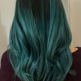 Gorgeous Green Hair Color Highlights for Modern Look in 2021