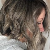 Gorgeous Smokey Silver Hair Color Ideas to Show Off in 2021