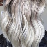 Fashionable Icy Blonde Lob Styles to Follow Nowadays