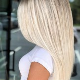 Popular Platinum Balayage Sleek Straight Hairstyles for 2021