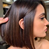 Pretty Brunette Bob Haircuts & Hairstyles for Girls in 2021
