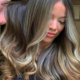 Dimensional Brunette Balayage Hair Color Ideas for 2021