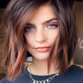 Fabulous Copper Highlights for Short Hair in Year 2019